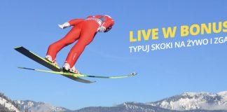 20 PLN na skoki narciarskie w Fortunie!