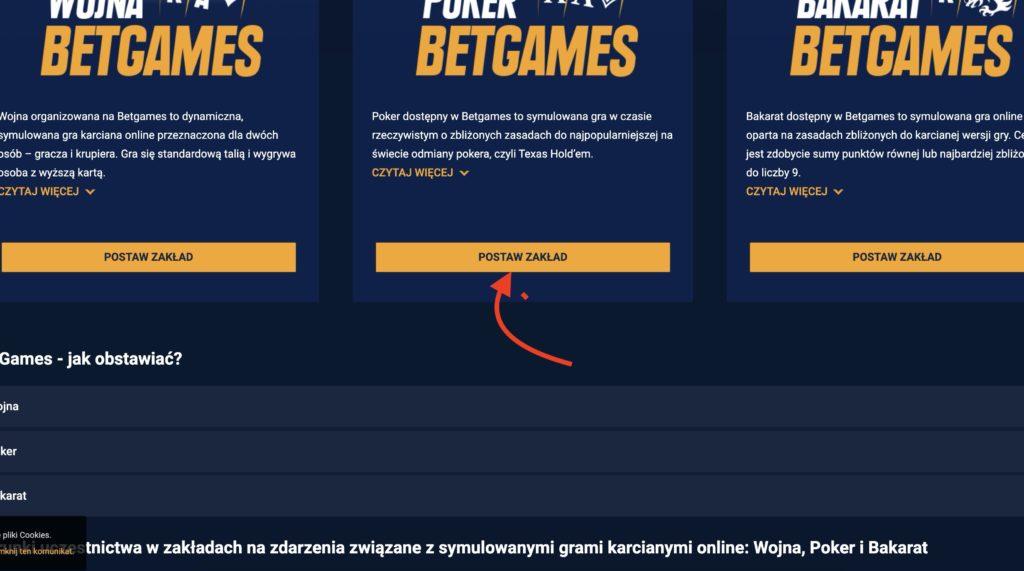 Tutaj dostępne są karty online na STS.pl